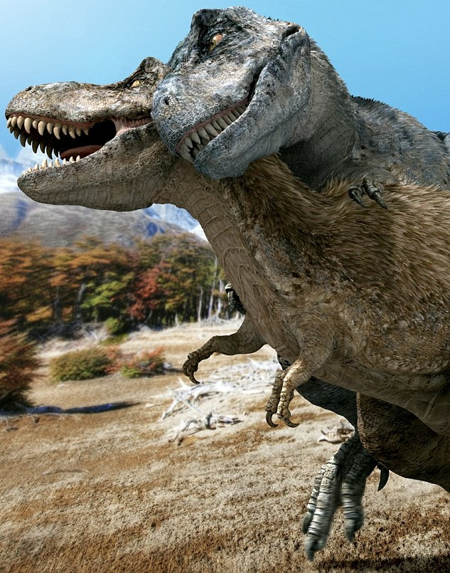 Scientists Reveal How Dinosaurs May Have Had Sex And The -8179