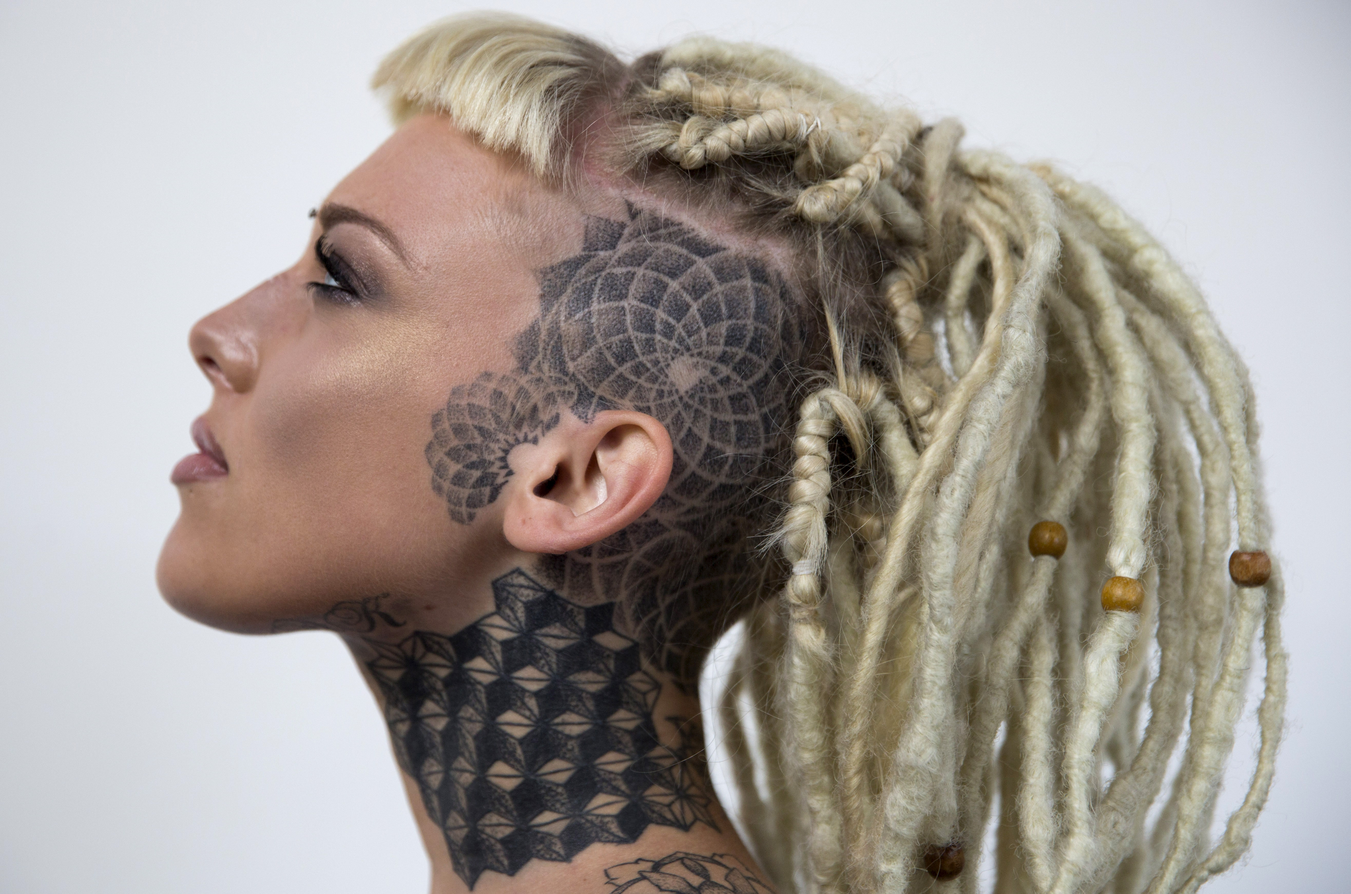 College women with 4 or more tattoos have higher self for La tattoo convention
