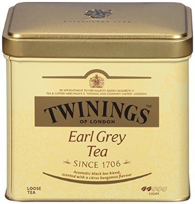 6. Twinings Earl Grey Loose Leaf Tea