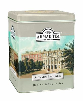 3. Ahmad Tea Aromatic Earl Grey Loose Leaf Tea