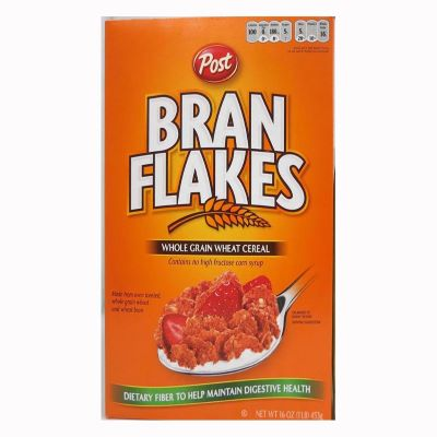 2. Post Bran Flakes - 16-Ounce, 4-Pack