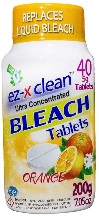 1. EZ-X Clean Ultra-Concentrated Bleach Tablets