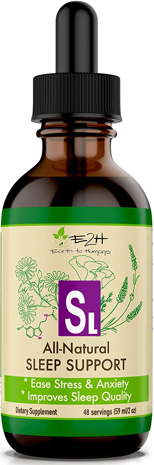 3. Earth To Humans All-Natural Sleep Support