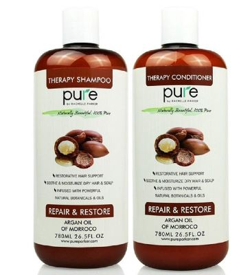 2. Pure Argan Oil Shampoo And Conditioner Set