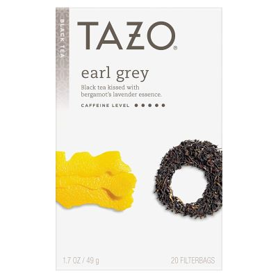 8. Tazo Earl Grey Black Tea