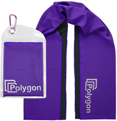 10. Polygon Instant Cooling Towel