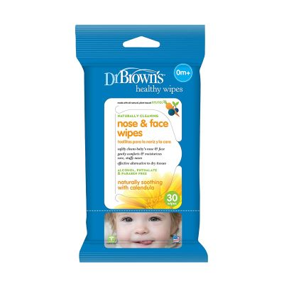 9. Dr. Brown's Nose And Face Wipes