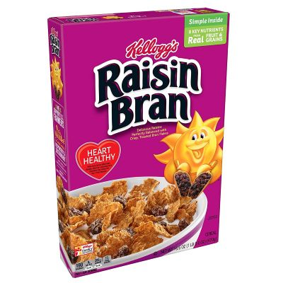 3. Kellogg's Raisin Bran - 16.6-Ounce