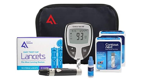 Active Forward and Contour Next Diabetes Testing Kit