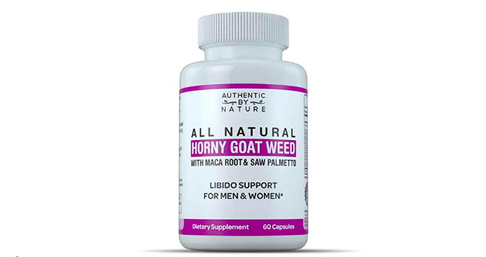 Authentic By Nature's All Natural Horny Goat Weed