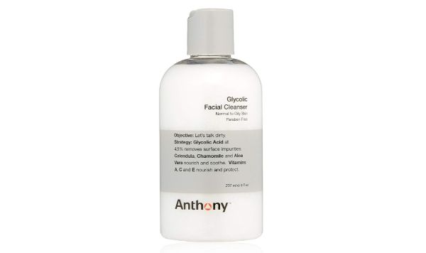 15. Anthony Glycolic Facial Cleanser