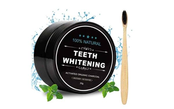 Aotto Activated Charcoal Teeth Whitening Powder