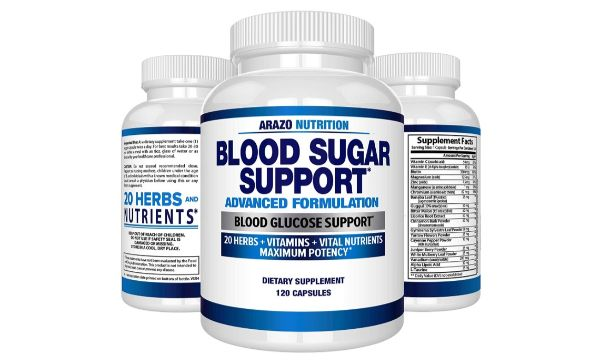 5. Arazo Nutrition Blood Sugar Support Supplement