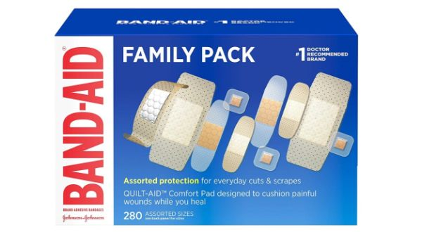 9. Band-Aid Family Variety Pack