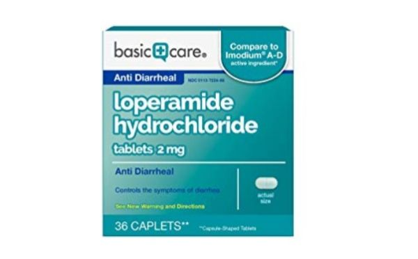 Basic Care Loperamide Hydrochloride And Simethicone Tablets