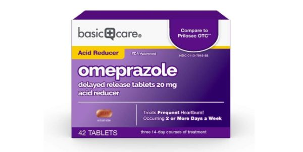 2. Basic Care Omeprazole Delayed Release Tablets