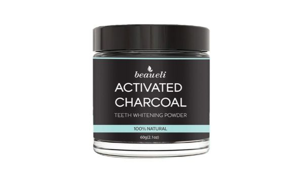 Beaueli Activated Charcoal Teeth Whitening Powder