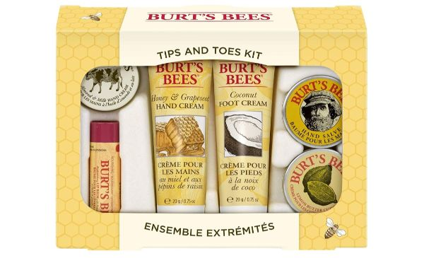 9. Burt's Bees Tips and Toes Kit