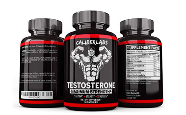 Caliber Labs Testosterone Booster