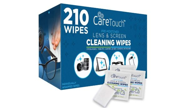 3. Care Touch Lens & Screen Cleaning Wipes