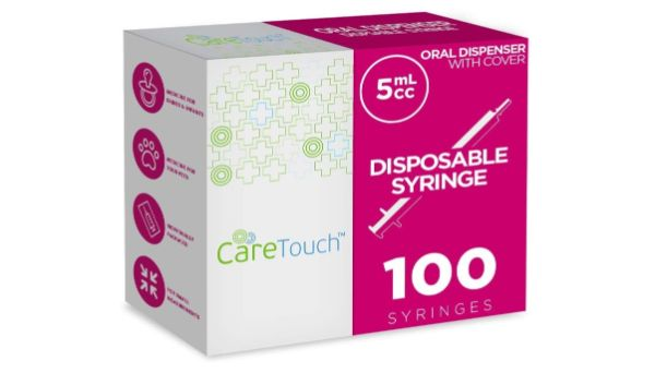 6. Care Touch Disposable Syringe