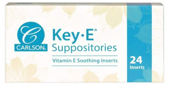 12. Carlson Key-E Suppositories