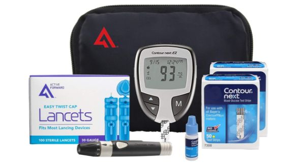 4. Contour next EZ Diabetes Testing Kit