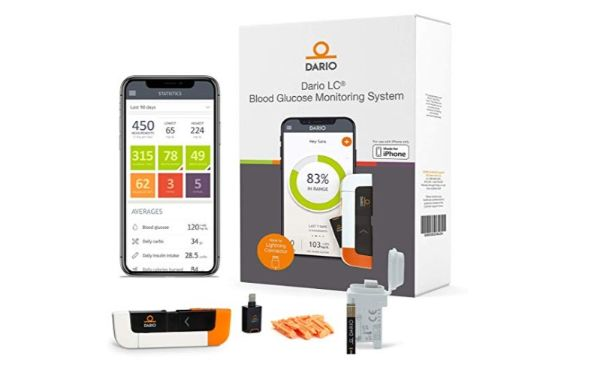 Dario Diabetes Blood Sugar Monitoring Kit