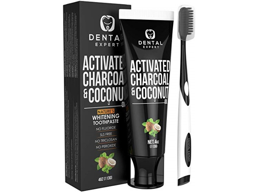 Dental Expert Activated Charcoal and Coconut Oil