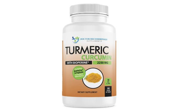 7. Doctor Recommended Supplements Turmeric Curcumin with BioPerine