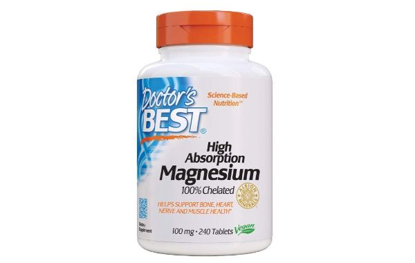 1. Doctor's Best High Absorption Magnesium