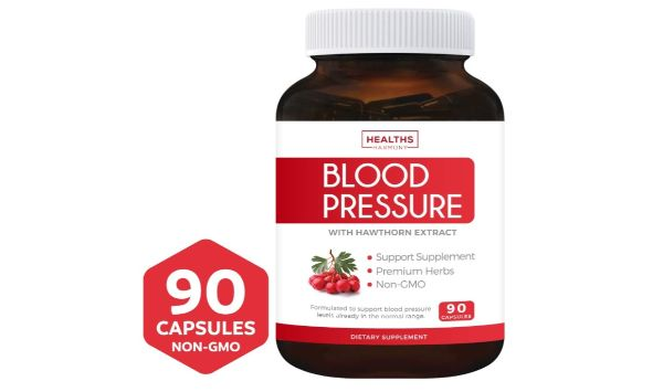 6. Healths Harmony Blood Pressure Support Supplement