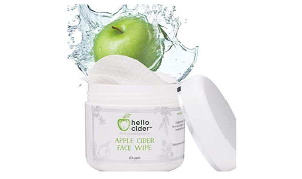 Hello Cider Apple Cider Vinegar Face Toner Pads