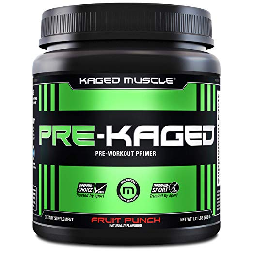 7. KAGED MUSCLE pre-workout
