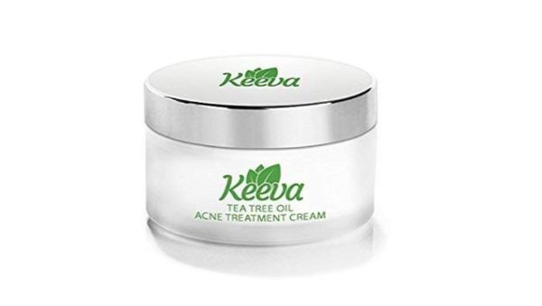 Keeva Organics Tea Tree Oil Acne Treatment Cream