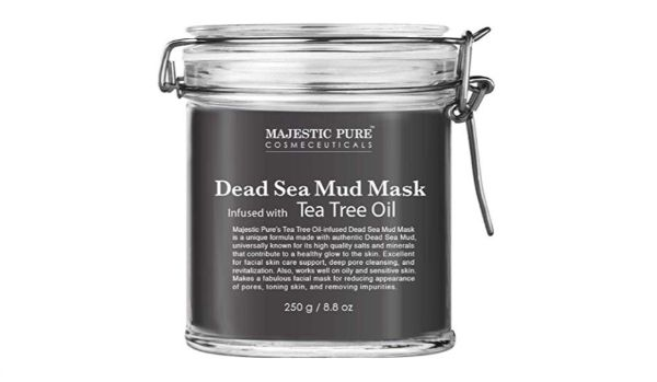 Majestic Pure Dead Sea Mud Mask with Tea Tree Oil