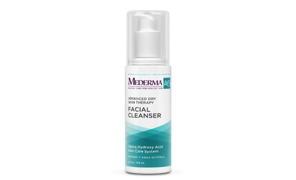 3. Mederma AG Advanced Dry Skin Therapy Facial Cleanser