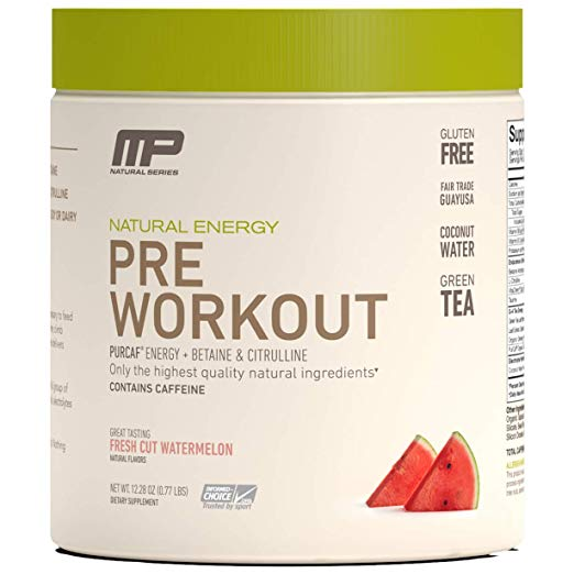 3. MP All Natural Pre-Workout
