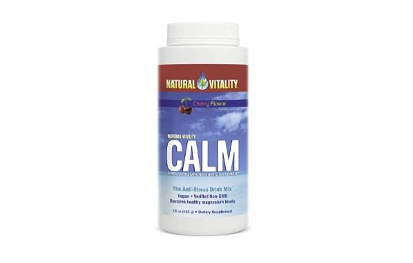 Natural Vitality Calm Dietary Supplement Powder