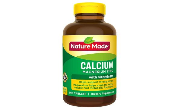 10. Nature Made Calcium Magnesium Zinc