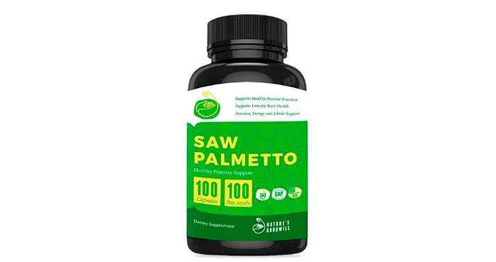 Nature's Goodwill Saw Palmetto Prostate Health Supplements