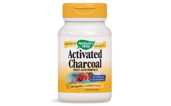 1. Nature's Way Activated Charcoal Capsules