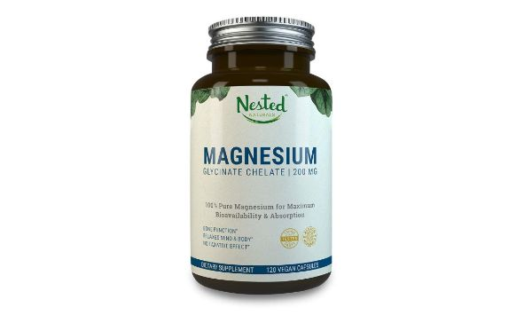 5. Nested Naturals Magnesium Glycinate Chelate