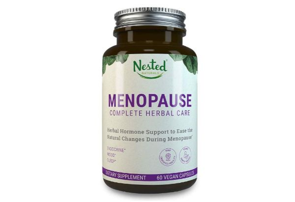 7. Nested Naturals Menopause Complete Herbal Care
