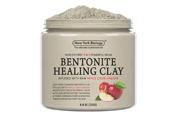 New York Biology Bentonite Clay Infused with Organic Apple Cider Vinegar