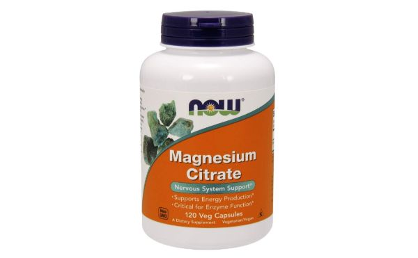8. NOW Supplements Magnesium Citrate