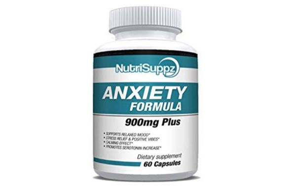 NutriSuppz Anxiety Formula Capsules