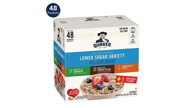 Quaker Low Sugar Instant Oatmeal