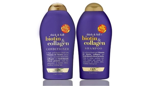 8. OGX Biotin & Collagen Shampoo