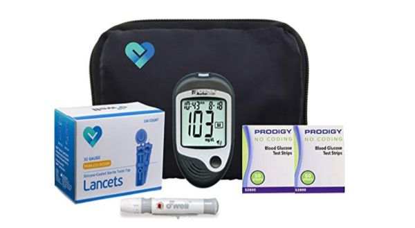 O'Well and Prodigy Diabetes Testing Kit